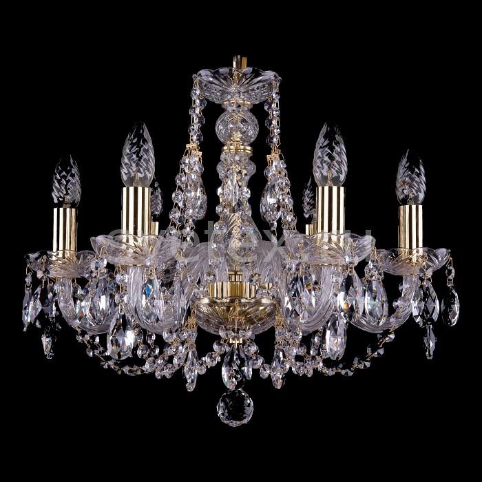Фото Подвесная люстра Bohemia Ivele Crystal 1406 1406/6/195/G