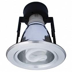 Встраиваемый светильник Arte LampВстраиваемые светильники<br>Артикул - AR_A8043PL-1SI,Бренд - Arte Lamp (Италия),Коллекция - Technika,Гарантия, месяцы - 24,Время изготовления, дней - 1,Диаметр, мм - 112,Размер упаковки, мм - 130x135x130,Тип лампы - компактная люминесцентная [КЛЛ],Общее кол-во ламп - 1,Напряжение питания лампы, В - 220,Максимальная мощность лампы, Вт - 7,Лампы в комплекте - компактные люминесцентные [КЛЛ] E27,Цвет плафонов и подвесок - неокрашенный,Тип поверхности плафонов - прозрачный,Материал плафонов и подвесок - стекло,Цвет арматуры - серебро,Тип поверхности арматуры - глянцевый,Материал арматуры - дюралюминий,Форма и тип колбы - витая трубка,Тип цоколя лампы - E27,Класс электробезопасности - I,Степень пылевлагозащиты, IP - 23,Диапазон рабочих температур - комнатная температура<br>