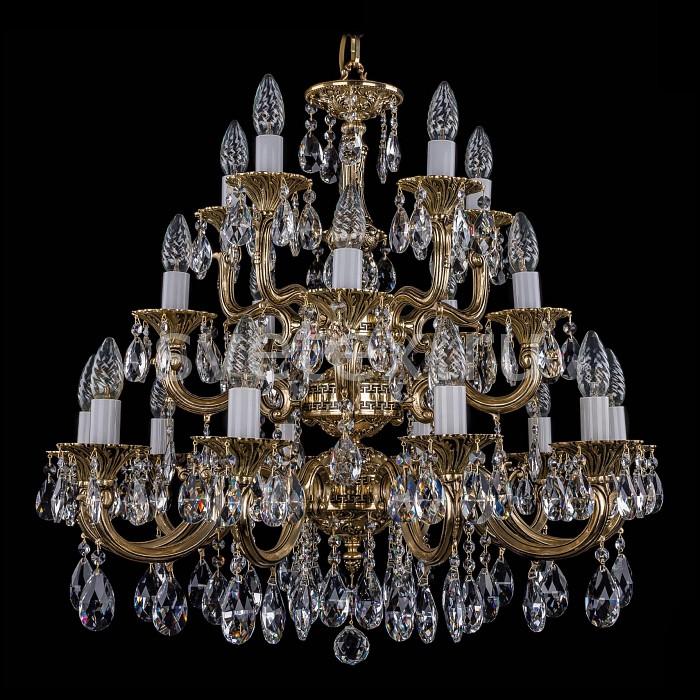 Фото Подвесная люстра Bohemia Ivele Crystal 1702 1702/10_5_5/265-68/A/GB