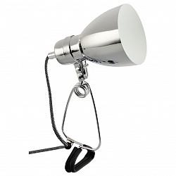 Настольная лампа Arte LampПолимерные<br>Артикул - AR_A1409LT-1CC,Бренд - Arte Lamp (Италия),Коллекция - Dorm,Гарантия, месяцы - 24,Высота, мм - 340,Диаметр, мм - 110,Тип лампы - компактная люминесцентная [КЛЛ] ИЛИнакаливания ИЛИсветодиодная [LED],Общее кол-во ламп - 1,Напряжение питания лампы, В - 220,Максимальная мощность лампы, Вт - 40,Лампы в комплекте - отсутствуют,Цвет плафонов и подвесок - хром,Тип поверхности плафонов - глянцевый,Материал плафонов и подвесок - металл,Цвет арматуры - черный, хром,Тип поверхности арматуры - глянцевый, матовый,Материал арматуры - металл, полимер,Тип цоколя лампы - E14,Класс электробезопасности - II,Степень пылевлагозащиты, IP - 20,Диапазон рабочих температур - комнатная температура,Дополнительные параметры - поворотный светильник<br>