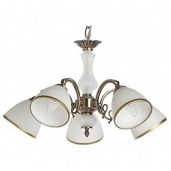 Подвесная люстра MW-LightМеталлические плафоны<br>Артикул - MW_357010505,Бренд - MW-Light (Германия),Коллекция - Афина,Гарантия, месяцы - 24,Время изготовления, дней - 1,Высота, мм - 800,Диаметр, мм - 580,Тип лампы - компактная люминесцентная [КЛЛ] ИЛИнакаливания ИЛИсветодиодная [LED],Общее кол-во ламп - 5,Напряжение питания лампы, В - 220,Максимальная мощность лампы, Вт - 60,Лампы в комплекте - отсутствуют,Цвет плафонов и подвесок - белый с бронзовой каймой,Тип поверхности плафонов - матовый,Материал плафонов и подвесок - металл, стекло,Цвет арматуры - бронза,Тип поверхности арматуры - матовый,Материал арматуры - металл,Возможность подлючения диммера - можно, если установить лампу накаливания,Тип цоколя лампы - E14,Класс электробезопасности - I,Общая мощность, Вт - 300,Степень пылевлагозащиты, IP - 20,Диапазон рабочих температур - комнатная температура<br>