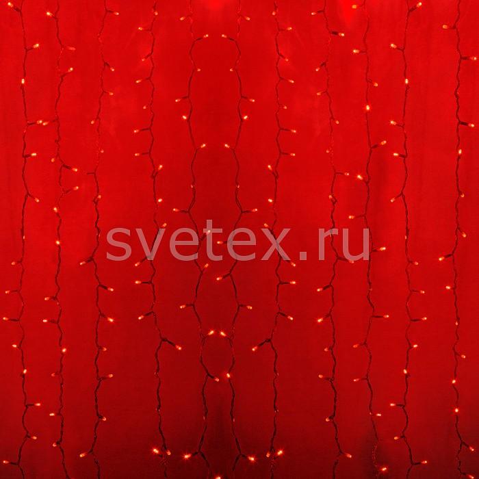 Фото Занавес световой Неон-Найт LED-TPL-18_20 235-302