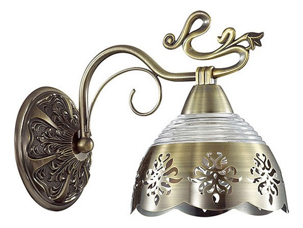 Бра Odeon LightМеталлический плафон<br>Артикул - OD_3206_1W,Бренд - Odeon Light (Италия),Коллекция - Carolina,Гарантия, месяцы - 24,Ширина, мм - 150,Высота, мм - 200,Выступ, мм - 250,Тип лампы - компактная люминесцентная [КЛЛ] ИЛИнакаливания ИЛИсветодиодная [LED],Общее кол-во ламп - 1,Напряжение питания лампы, В - 220,Максимальная мощность лампы, Вт - 40,Лампы в комплекте - отсутствуют,Цвет плафонов и подвесок - бронза, неокрашенный,Тип поверхности плафонов - матовый, прозрачный,Материал плафонов и подвесок - металл, стекло, хрусталь,Цвет арматуры - бронза,Тип поверхности арматуры - матовый,Материал арматуры - металл,Количество плафонов - 1,Возможность подлючения диммера - можно, если установить лампу накаливания,Тип цоколя лампы - E14,Класс электробезопасности - I,Степень пылевлагозащиты, IP - 20,Диапазон рабочих температур - комнатная температура,Дополнительные параметры - светильник предназначен для использования со скрытой проводкой<br>