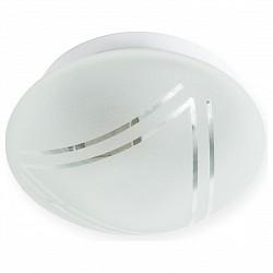 Накладной светильник TopLightКруглые<br>Артикул - TPL_TL9451Y-01WH,Бренд - TopLight (Россия),Коллекция - Mirafo,Гарантия, месяцы - 24,Диаметр, мм - 190,Размер упаковки, мм - 200x130x200,Тип лампы - компактная люминесцентная [КЛЛ] ИЛИнакаливания ИЛИсветодиодная [LED],Общее кол-во ламп - 1,Напряжение питания лампы, В - 220,Максимальная мощность лампы, Вт - 60,Лампы в комплекте - отсутствуют,Цвет плафонов и подвесок - белый с рисунком,Тип поверхности плафонов - матовый,Материал плафонов и подвесок - стекло,Цвет арматуры - белый,Тип поверхности арматуры - матовый,Материал арматуры - металл,Возможность подлючения диммера - можно, если установить лампу накаливания,Тип цоколя лампы - E27,Класс электробезопасности - I,Степень пылевлагозащиты, IP - 20,Диапазон рабочих температур - комнатная температура,Дополнительные параметры - способ крепления светильника к потолку и к стене - на монтажной пластине<br>
