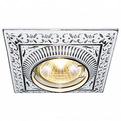 Встраиваемый светильник Arte LampСветильники для натяжных потолков<br>Артикул - AR_A5284PL-1WA,Бренд - Arte Lamp (Италия),Коллекция - Occhio,Гарантия, месяцы - 24,Тип лампы - галогеновая ИЛИсветодиодная [LED],Общее кол-во ламп - 1,Напряжение питания лампы, В - 220,Максимальная мощность лампы, Вт - 50,Лампы в комплекте - отсутствуют,Цвет арматуры - белый античный,Тип поверхности арматуры - глянцевый, рельефный,Материал арматуры - металл,Возможность подлючения диммера - можно, если установить галогеновую лампу,Форма и тип колбы - полусферическая с рефлектором,Тип цоколя лампы - GU10,Класс электробезопасности - I,Степень пылевлагозащиты, IP - 20,Диапазон рабочих температур - комнатная температура,Дополнительные параметры - возможна установка галогеновой лампы MR-16 с цоколем G5.3 на 12 V с подключением через трансформатор<br>