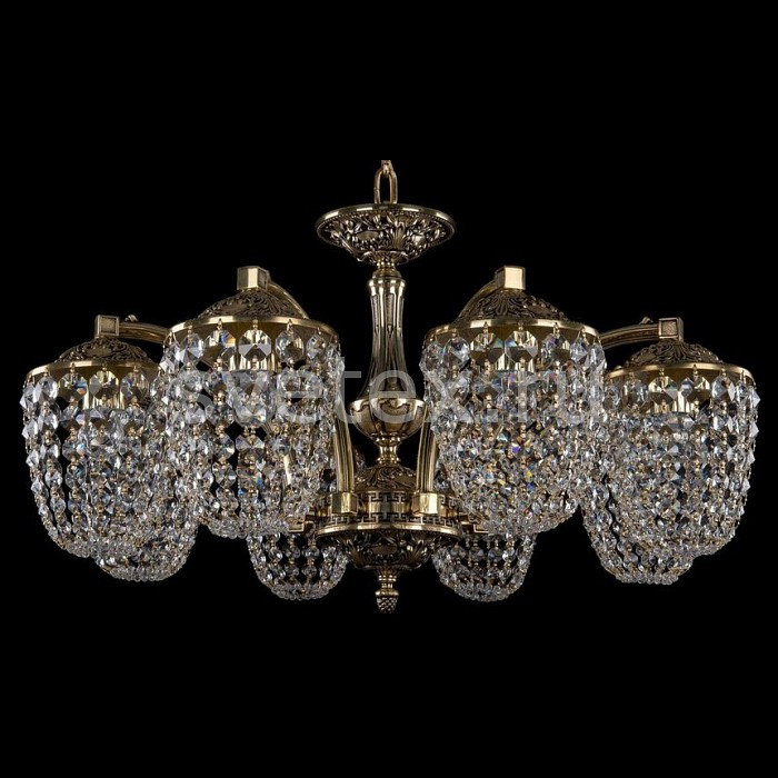Подвесная люстра Bohemia Ivele CrystalБолее 6 ламп<br>Артикул - BI_1772_8_220_GB,Бренд - Bohemia Ivele Crystal (Чехия),Коллекция - 1772,Гарантия, месяцы - 24,Высота, мм - 410,Диаметр, мм - 740,Размер упаковки, мм - 640x640x320,Тип лампы - компактная люминесцентная [КЛЛ] ИЛИнакаливания ИЛИсветодиодная [LED],Общее кол-во ламп - 8,Напряжение питания лампы, В - 220,Максимальная мощность лампы, Вт - 40,Лампы в комплекте - отсутствуют,Цвет плафонов и подвесок - неокрашенный,Тип поверхности плафонов - прозрачный,Материал плафонов и подвесок - хрусталь,Цвет арматуры - золото черненое,Тип поверхности арматуры - глянцевый, рельефный,Материал арматуры - латунь,Возможность подлючения диммера - можно, если установить лампу накаливания,Тип цоколя лампы - E14,Класс электробезопасности - I,Общая мощность, Вт - 320,Степень пылевлагозащиты, IP - 20,Диапазон рабочих температур - комнатная температура,Дополнительные параметры - способ крепления светильника к потолку - на крюке, указана высота светильника без подвеса<br>