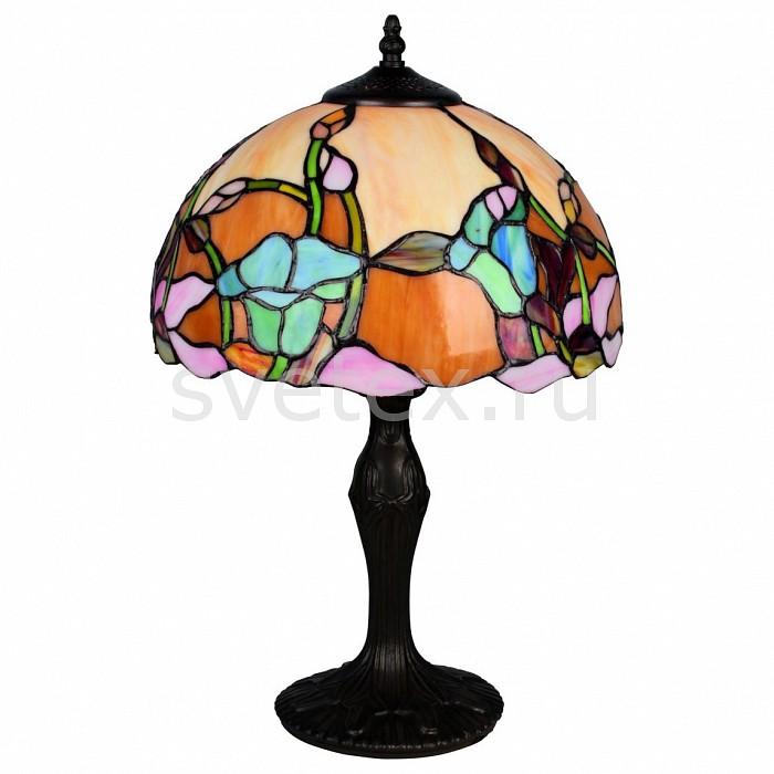 Настольная лампа OmniluxСтеклянный плафон<br>Артикул - OM_OML-80904-01,Бренд - Omnilux (Италия),Коллекция - OM-809,Гарантия, месяцы - 24,Время изготовления, дней - 1,Высота, мм - 500,Диаметр, мм - 300,Тип лампы - компактная люминесцентная [КЛЛ] ИЛИнакаливания ИЛИсветодиодная [LED],Общее кол-во ламп - 1,Напряжение питания лампы, В - 220,Максимальная мощность лампы, Вт - 60,Лампы в комплекте - отсутствуют,Цвет плафонов и подвесок - цветной рисунок,Тип поверхности плафонов - глянцевый, рельефный,Материал плафонов и подвесок - стекло,Цвет арматуры - бронза,Тип поверхности арматуры - глянцевый,Материал арматуры - металл,Количество плафонов - 1,Компоненты, входящие в комплект - провод электропитания с вилкой без заземления,Тип цоколя лампы - E27,Класс электробезопасности - II,Степень пылевлагозащиты, IP - 20,Диапазон рабочих температур - комнатная температура,Дополнительные параметры - стиль Тиффани<br>