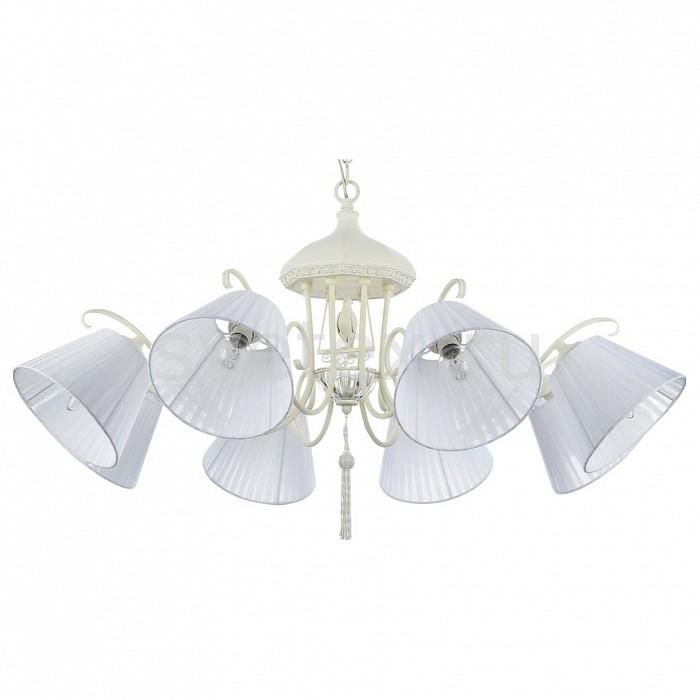 Подвесная люстра MaytoniСветильники<br>Артикул - MY_ARM031-08-W,Бренд - Maytoni (Германия),Коллекция - Cella,Гарантия, месяцы - 24,Высота, мм - 890-1360,Диаметр, мм - 970,Тип лампы - компактная люминесцентная [КЛЛ] ИЛИнакаливания ИЛИсветодиодная [LED],Общее кол-во ламп - 8,Напряжение питания лампы, В - 220,Максимальная мощность лампы, Вт - 40,Лампы в комплекте - отсутствуют,Цвет плафонов и подвесок - белый,Тип поверхности плафонов - матовый,Материал плафонов и подвесок - текстиль,Цвет арматуры - белый,Тип поверхности арматуры - матовый,Материал арматуры - металл,Количество плафонов - 8,Возможность подлючения диммера - можно, если установить лампу накаливания,Тип цоколя лампы - E14,Класс электробезопасности - I,Общая мощность, Вт - 320,Степень пылевлагозащиты, IP - 20,Диапазон рабочих температур - комнатная температура,Дополнительные параметры - способ крепления светильника к потолку - на крюке, регулируется по высоте, светильник декорирован декоративными элементами в виде птицы и кисти<br>
