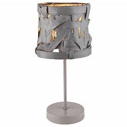 Настольная лампа декоративная GloboПолимерные<br>Артикул - GB_15224T,Бренд - Globo (Австрия),Коллекция - Salvador,Гарантия, месяцы - 24,Высота, мм - 350,Диаметр, мм - 170,Тип лампы - компактная люминесцентная [КЛЛ] ИЛИнакаливания ИЛИсветодиодная [LED],Общее кол-во ламп - 1,Напряжение питания лампы, В - 220,Максимальная мощность лампы, Вт - 40,Лампы в комплекте - отсутствуют,Цвет плафонов и подвесок - серый,Тип поверхности плафонов - матовый,Материал плафонов и подвесок - бумага, полимер,Цвет арматуры - серый,Тип поверхности арматуры - матовый,Материал арматуры - металл,Количество плафонов - 1,Тип цоколя лампы - E14,Класс электробезопасности - II,Степень пылевлагозащиты, IP - 20,Диапазон рабочих температур - комнатная температура<br>