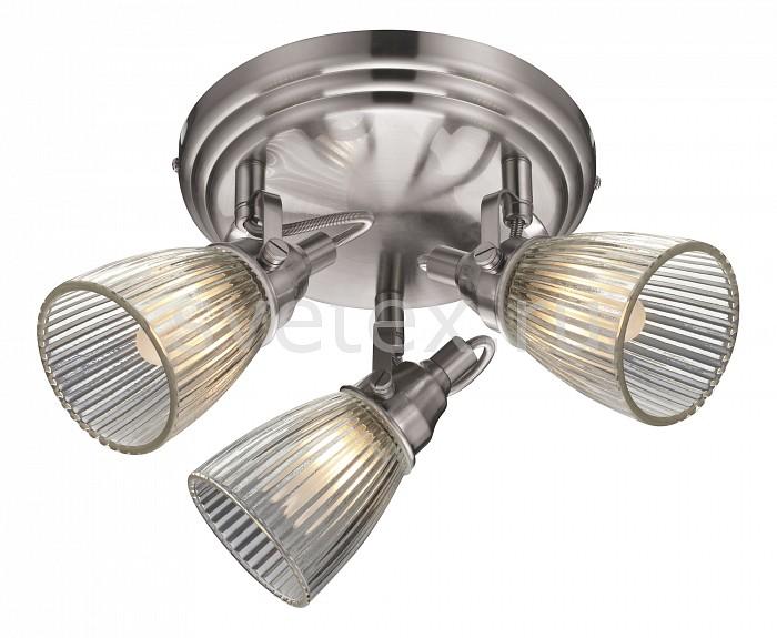 Спот markslojdСпоты<br>Артикул - ML_104865,Бренд - markslojd (Швеция),Коллекция - Lada,Гарантия, месяцы - 24,Выступ, мм - 210,Диаметр, мм - 370,Размер упаковки, мм - 305x565x380,Тип лампы - галогеновая,Общее кол-во ламп - 3,Напряжение питания лампы, В - 220,Максимальная мощность лампы, Вт - 40,Цвет лампы - белый теплый,Лампы в комплекте - галогеновые G9,Цвет плафонов и подвесок - неокрашенный,Тип поверхности плафонов - прозрачный,Материал плафонов и подвесок - стекло,Цвет арматуры - стальной,Тип поверхности арматуры - глянцевый,Материал арматуры - металл,Количество плафонов - 3,Возможность подлючения диммера - можно,Форма и тип колбы - пальчиковая,Тип цоколя лампы - G9,Цветовая температура, K - 2800 - 3200 K,Экономичнее лампы накаливания - на 50%,Класс электробезопасности - I,Общая мощность, Вт - 120,Степень пылевлагозащиты, IP - 20,Диапазон рабочих температур - комнатная температура,Дополнительные параметры - способ крепления к потолку и стене - на монтажной пластине, поворотный светильник<br>