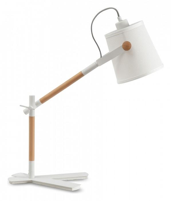Настольная лампа MantraС абажуром<br>Артикул - MN_4922,Бренд - Mantra (Испания),Коллекция - Nordica,Гарантия, месяцы - 24,Ширина, мм - 160,Высота, мм - 580,Выступ, мм - 500,Тип лампы - компактная люминесцентная [КЛЛ] ИЛИсветодиодная [LED],Общее кол-во ламп - 1,Напряжение питания лампы, В - 220,Максимальная мощность лампы, Вт - 23,Лампы в комплекте - отсутствуют,Цвет плафонов и подвесок - белый,Тип поверхности плафонов - матовый,Материал плафонов и подвесок - текстиль,Цвет арматуры - белый, коричневый,Тип поверхности арматуры - матовый,Материал арматуры - дерево, металл,Количество плафонов - 1,Наличие выключателя, диммера или пульта ДУ - выключатель на проводе,Компоненты, входящие в комплект - провод электропитания с вилкой без заземления,Тип цоколя лампы - E27,Класс электробезопасности - II,Степень пылевлагозащиты, IP - 20,Диапазон рабочих температур - комнатная температура,Дополнительные параметры - поворотный светильник<br>