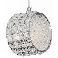 Подвесной светильник ST-LuceС 1 плафоном<br>Артикул - SL752.103.01,Бренд - ST-Luce (Китай),Коллекция - Piatto,Гарантия, месяцы - 24,Высота, мм - 160,Тип лампы - компактная люминесцентная [КЛЛ] ИЛИнакаливания ИЛИсветодиодная [LED],Общее кол-во ламп - 1,Напряжение питания лампы, В - 220,Максимальная мощность лампы, Вт - 40,Лампы в комплекте - отсутствуют,Цвет плафонов и подвесок - неокрашенный,Тип поверхности плафонов - прозрачный,Материал плафонов и подвесок - стекло, хрусталь,Цвет арматуры - хром,Тип поверхности арматуры - глянцевый,Материал арматуры - металл,Возможность подлючения диммера - можно, если установить лампу накаливания,Тип цоколя лампы - E14,Класс электробезопасности - I,Степень пылевлагозащиты, IP - 20,Диапазон рабочих температур - комнатная температура,Дополнительные параметры - способ крепления светильника к потолку - на монтажной пластине, регулируется по высоте<br>