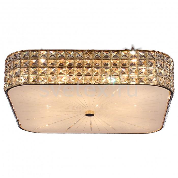 Накладной светильник CitiluxКвадратные<br>Артикул - CL324282,Бренд - Citilux (Дания),Коллекция - Портал,Гарантия, месяцы - 24,Длина, мм - 510,Ширина, мм - 510,Высота, мм - 150,Тип лампы - компактная люминесцентная [КЛЛ] ИЛИнакаливания ИЛИсветодиодная [LED],Общее кол-во ламп - 8,Напряжение питания лампы, В - 220,Максимальная мощность лампы, Вт - 60,Лампы в комплекте - отсутствуют,Цвет плафонов и подвесок - белый с неокрашенным рисунком, неокрашенный,Тип поверхности плафонов - матовый, прозрачный,Материал плафонов и подвесок - стекло, хрусталь,Цвет арматуры - золото,Тип поверхности арматуры - глянцевый,Материал арматуры - металл,Количество плафонов - 1,Возможность подлючения диммера - можно, если установить лампу накаливания,Тип цоколя лампы - E14,Класс электробезопасности - I,Общая мощность, Вт - 480,Степень пылевлагозащиты, IP - 20,Диапазон рабочих температур - комнатная температура,Дополнительные параметры - способ крепления светильника к потолку - на монтажной пластине<br>