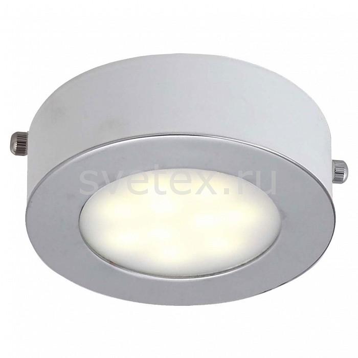 Накладной светильник Lustige 1726-1C FavouriteТочечные светильники<br>Артикул - FV_1726-1C,Бренд - Favourite (Германия),Коллекция - Lustige,Гарантия, месяцы - 24,Выступ, мм - 40,Диаметр, мм - 100,Тип лампы - светодиодная [LED],Общее кол-во ламп - 1,Максимальная мощность лампы, Вт - 5,Цвет лампы - белый,Лампы в комплекте - светодиодная [LED],Цвет плафонов и подвесок - белый, хром,Тип поверхности плафонов - глянцевый, матовый,Материал плафонов и подвесок - акрил, металл,Цвет арматуры - белый,Тип поверхности арматуры - матовый,Материал арматуры - металл,Количество плафонов - 1,Возможность подлючения диммера - нельзя,Цветовая температура, K - 4000 K,Класс электробезопасности - I,Напряжение питания, В - 220,Степень пылевлагозащиты, IP - 20,Диапазон рабочих температур - комнатная температура,Дополнительные параметры - способ крепления к потолку и стене - на монтажной пластине<br>