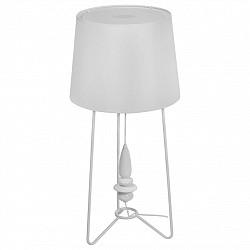 Настольная лампа декоративная MW-LightС абажуром<br>Артикул - MW_494030701,Бренд - MW-Light (Германия),Коллекция - Райне,Гарантия, месяцы - 24,Высота, мм - 850,Диаметр, мм - 400,Тип лампы - компактная люминесцентная [КЛЛ] ИЛИнакаливания ИЛИсветодиодная [LED],Общее кол-во ламп - 1,Напряжение питания лампы, В - 220,Максимальная мощность лампы, Вт - 60,Лампы в комплекте - отсутствуют,Цвет плафонов и подвесок - белый,Тип поверхности плафонов - матовый,Материал плафонов и подвесок - текстиль,Цвет арматуры - белый,Тип поверхности арматуры - матовый,Материал арматуры - металл,Тип цоколя лампы - E27,Класс электробезопасности - II,Степень пылевлагозащиты, IP - 20,Диапазон рабочих температур - комнатная температура<br>
