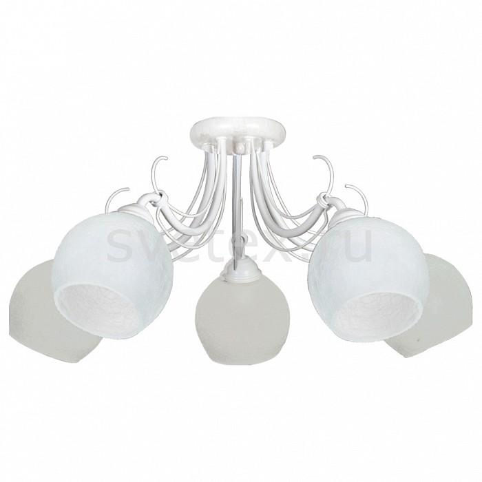 Потолочная люстра АврораЛюстры<br>Артикул - AV_10069-5C,Бренд - Аврора (Россия),Коллекция - Ландыш,Гарантия, месяцы - 24,Высота, мм - 250,Диаметр, мм - 660,Тип лампы - компактная люминесцентная [КЛЛ] ИЛИнакаливания ИЛИсветодиодная  [LED],Общее кол-во ламп - 5,Напряжение питания лампы, В - 220,Максимальная мощность лампы, Вт - 60,Лампы в комплекте - отсутствуют,Цвет плафонов и подвесок - белый с рисунком,Тип поверхности плафонов - матовый,Материал плафонов и подвесок - стекло,Цвет арматуры - белый с золотой патиной,Тип поверхности арматуры - матовый,Материал арматуры - металл,Количество плафонов - 5,Возможность подлючения диммера - можно, если установить лампу накаливания,Тип цоколя лампы - E14,Класс электробезопасности - I,Общая мощность, Вт - 300,Степень пылевлагозащиты, IP - 20,Диапазон рабочих температур - комнатная температура,Дополнительные параметры - способ крепления светильника к потолку - на монтажной пластине<br>