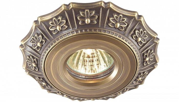 Фото Встраиваемый светильник Novotech Vintage 369933