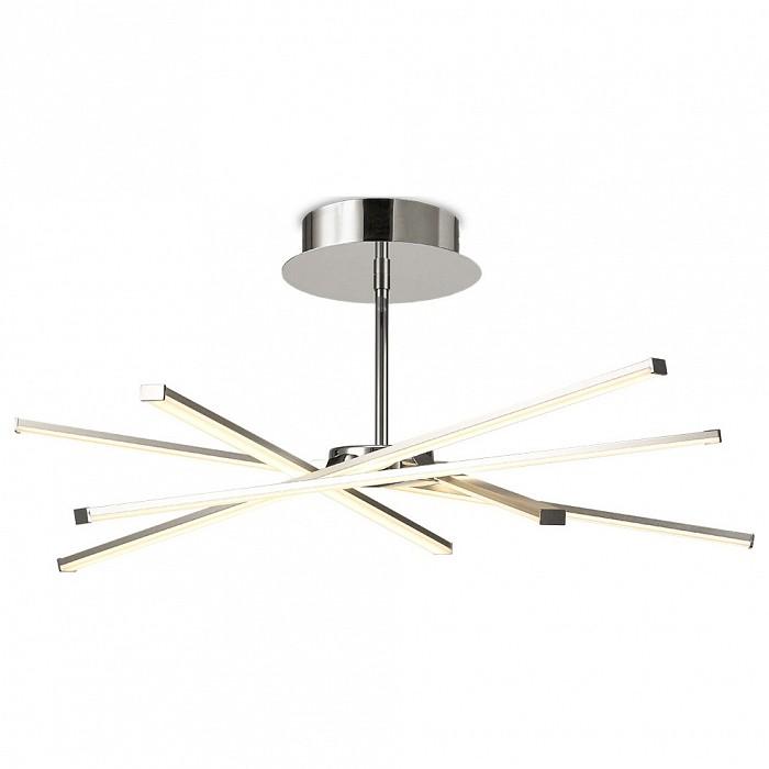 Люстра на штанге MantraПолимерные плафоны<br>Артикул - MN_6031,Бренд - Mantra (Испания),Коллекция - Star LED,Гарантия, месяцы - 24,Высота, мм - 216,Диаметр, мм - 707,Тип лампы - светодиодная [LED],Общее кол-во ламп - 5,Напряжение питания лампы, В - 220,Максимальная мощность лампы, Вт - 8.4,Цвет лампы - белый теплый,Лампы в комплекте - светодиодные [LED],Цвет плафонов и подвесок - белый,Тип поверхности плафонов - матовый,Материал плафонов и подвесок - акрил,Цвет арматуры - хром,Тип поверхности арматуры - глянцевый,Материал арматуры - металл,Количество плафонов - 5,Возможность подлючения диммера - нельзя,Цветовая температура, K - 3000 K,Световой поток, лм - 3700,Экономичнее лампы накаливания - В 5, 6 раза,Светоотдача, лм/Вт - 88,Класс электробезопасности - I,Общая мощность, Вт - 42,Степень пылевлагозащиты, IP - 20,Диапазон рабочих температур - комнатная температура,Дополнительные параметры - способ крепления светильника к потолку — на монтажной пластине<br>