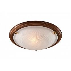 Накладной светильник SonexКруглые<br>Артикул - SN_216,Бренд - Sonex (Россия),Коллекция - Glass,Гарантия, месяцы - 24,Время изготовления, дней - 1,Диаметр, мм - 460,Тип лампы - компактная люминесцентная [КЛЛ] ИЛИнакаливания ИЛИсветодиодная [LED],Общее кол-во ламп - 2,Напряжение питания лампы, В - 220,Максимальная мощность лампы, Вт - 100,Лампы в комплекте - отсутствуют,Цвет плафонов и подвесок - белый с рисунком,Тип поверхности плафонов - рельефный, матовый,Материал плафонов и подвесок - стекло,Цвет арматуры - дуб, золото,Тип поверхности арматуры - глянцевый,Материал арматуры - дерево, металл,Возможность подлючения диммера - можно, если установить лампу накаливания,Тип цоколя лампы - E27,Класс электробезопасности - I,Общая мощность, Вт - 200,Степень пылевлагозащиты, IP - 20,Диапазон рабочих температур - комнатная температура<br>