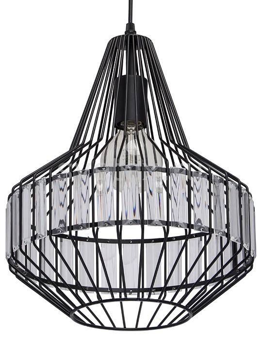 Подвесной светильник MW-LightПодвесные светильники<br>Артикул - MW_643012201,Бренд - MW-Light (Германия),Коллекция - Кассель 1,Гарантия, месяцы - 24,Высота, мм - 170-1520,Диаметр, мм - 310,Тип лампы - компактная люминесцентная [КЛЛ] ИЛИнакаливания ИЛИсветодиодная [LED],Общее кол-во ламп - 1,Напряжение питания лампы, В - 220,Максимальная мощность лампы, Вт - 60,Лампы в комплекте - отсутствуют,Цвет плафонов и подвесок - неокрашенный, черный,Тип поверхности плафонов - матовый, прозрачный,Материал плафонов и подвесок - металл, хрусталь,Цвет арматуры - черный,Тип поверхности арматуры - матовый,Материал арматуры - металл,Количество плафонов - 1,Возможность подлючения диммера - можно, если установить лампу накаливания,Тип цоколя лампы - E27,Класс электробезопасности - I,Степень пылевлагозащиты, IP - 20,Диапазон рабочих температур - комнатная температура,Дополнительные параметры - способ крепления светильника к потолку - на монтажной пластине, светильник регулируется по высоте<br>