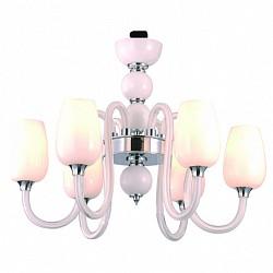 Подвесная люстра IDLamp5 или 6 ламп<br>Артикул - ID_483_6-white,Бренд - IDLamp (Италия),Коллекция - 482,Гарантия, месяцы - 24,Высота, мм - 460,Диаметр, мм - 630,Тип лампы - компактная люминесцентная [КЛЛ] ИЛИнакаливания ИЛИсветодиодная [LED],Общее кол-во ламп - 6,Напряжение питания лампы, В - 220,Максимальная мощность лампы, Вт - 60,Лампы в комплекте - отсутствуют,Цвет плафонов и подвесок - белый,Тип поверхности плафонов - матовый,Материал плафонов и подвесок - стекло,Цвет арматуры - белый, хром,Тип поверхности арматуры - глянцевый,Материал арматуры - стекло, металл,Возможность подлючения диммера - можно, если установить лампу накаливания,Тип цоколя лампы - E14,Класс электробезопасности - I,Общая мощность, Вт - 360,Степень пылевлагозащиты, IP - 20,Диапазон рабочих температур - комнатная температура,Дополнительные параметры - указана высота светильника без подвеса<br>