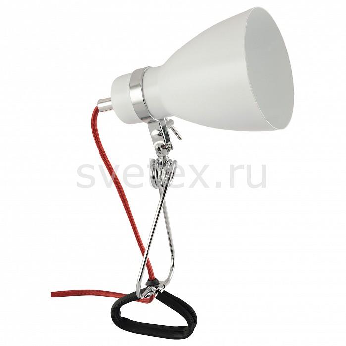 Фото Настольная лампа Arte Lamp E14 220В 40Вт Dorm A1409LT-1WH