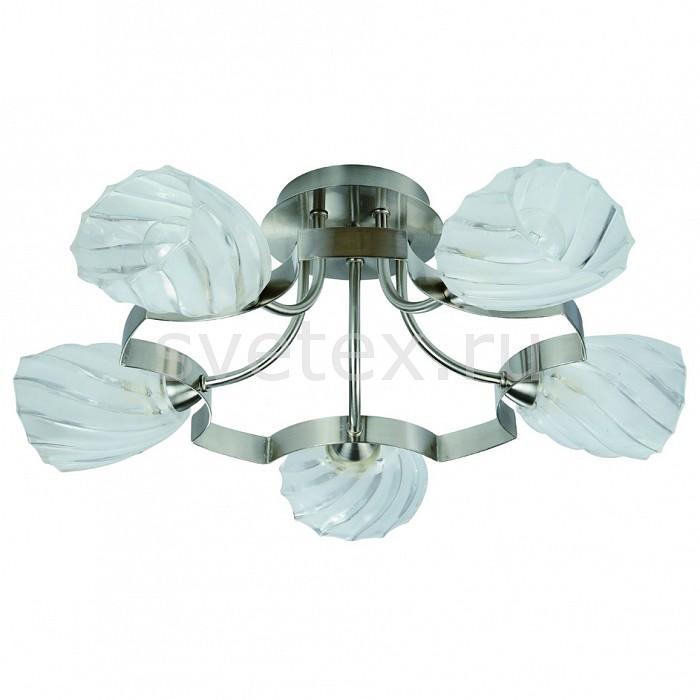 Потолочная люстра IDLampЛюстры<br>Артикул - ID_601_5PF-MOONwhitechrome,Бренд - IDLamp (Италия),Коллекция - 601,Гарантия, месяцы - 24,Время изготовления, дней - 1,Высота, мм - 280,Диаметр, мм - 590,Тип лампы - компактная люминесцентная [КЛЛ] ИЛИнакаливания ИЛИсветодиодная [LED],Общее кол-во ламп - 5,Напряжение питания лампы, В - 220,Максимальная мощность лампы, Вт - 60,Лампы в комплекте - отсутствуют,Цвет плафонов и подвесок - неокрашенный,Тип поверхности плафонов - прозрачный, рельефный,Материал плафонов и подвесок - стекло,Цвет арматуры - никель,Тип поверхности арматуры - глянцевый,Материал арматуры - металл,Количество плафонов - 5,Возможность подлючения диммера - можно, если установить лампу накаливания,Тип цоколя лампы - E14,Класс электробезопасности - I,Общая мощность, Вт - 300,Степень пылевлагозащиты, IP - 20,Диапазон рабочих температур - комнатная температура,Дополнительные параметры - способ крепления светильника к потолку — на монтажной пластине<br>