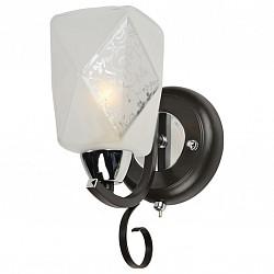 Бра IDLampС 1 лампой<br>Артикул - ID_233_1A-Blackchrome,Бренд - IDLamp (Италия),Коллекция - 233,Высота, мм - 250,Тип лампы - компактная люминесцентная [КЛЛ] ИЛИнакаливания ИЛИсветодиодная [LED],Общее кол-во ламп - 1,Напряжение питания лампы, В - 220,Максимальная мощность лампы, Вт - 60,Лампы в комплекте - отсутствуют,Цвет плафонов и подвесок - белый с рисунком,Тип поверхности плафонов - матовый,Материал плафонов и подвесок - стекло,Цвет арматуры - хром, черный,Тип поверхности арматуры - глянцевый, матовый,Материал арматуры - металл,Возможность подлючения диммера - можно, если установить лампу накаливания,Тип цоколя лампы - E14,Класс электробезопасности - I,Степень пылевлагозащиты, IP - 20,Диапазон рабочих температур - комнатная температура,Дополнительные параметры - светильник предназначен для использования со скрытой проводкой, способ крепления светильника к стене – на монтажной пластине<br>