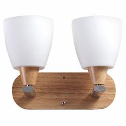 Бра Lucia TucciДеревянные<br>Артикул - LT_Natura_W151.2,Бренд - Lucia Tucci (Италия),Коллекция - Natura,Гарантия, месяцы - 24,Высота, мм - 230,Тип лампы - компактная люминесцентная [КЛЛ] ИЛИнакаливания ИЛИсветодиодная [LED],Общее кол-во ламп - 2,Напряжение питания лампы, В - 220,Максимальная мощность лампы, Вт - 60,Лампы в комплекте - отсутствуют,Цвет плафонов и подвесок - белый,Тип поверхности плафонов - матовый,Материал плафонов и подвесок - стекло,Цвет арматуры - сосна, хром,Тип поверхности арматуры - глянцевый, матовый,Материал арматуры - дерево, металл,Возможность подлючения диммера - можно, если установить лампу накаливания,Тип цоколя лампы - E14,Класс электробезопасности - I,Общая мощность, Вт - 120,Степень пылевлагозащиты, IP - 20,Диапазон рабочих температур - комнатная температура,Дополнительные параметры - светильник предназначен для использования со скрытой проводкой<br>