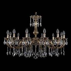 Подвесная люстра Bohemia Ivele CrystalБолее 6 ламп<br>Артикул - BI_1702_12_335_A_GB,Бренд - Bohemia Ivele Crystal (Чехия),Коллекция - 1702,Гарантия, месяцы - 24,Высота, мм - 550,Диаметр, мм - 990,Размер упаковки, мм - 710x710x240,Тип лампы - компактная люминесцентная [КЛЛ] ИЛИнакаливания ИЛИсветодиодная [LED],Общее кол-во ламп - 12,Напряжение питания лампы, В - 220,Максимальная мощность лампы, Вт - 40,Лампы в комплекте - отсутствуют,Цвет плафонов и подвесок - неокрашенный,Тип поверхности плафонов - прозрачный,Материал плафонов и подвесок - хрусталь,Цвет арматуры - золото черненое,Тип поверхности арматуры - глянцевый, рельефный,Материал арматуры - латунь,Возможность подлючения диммера - можно, если установить лампу накаливания,Форма и тип колбы - свеча ИЛИ свеча на ветру,Тип цоколя лампы - E14,Класс электробезопасности - I,Общая мощность, Вт - 480,Степень пылевлагозащиты, IP - 20,Диапазон рабочих температур - комнатная температура,Дополнительные параметры - способ крепления светильника к потолку - на крюке, указана высота светильника без подвеса<br>