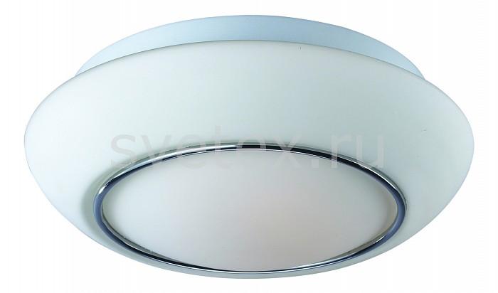 Накладной светильник ST-LuceКруглые<br>Артикул - SL497.502.03,Бренд - ST-Luce (Китай),Коллекция - Bagno,Гарантия, месяцы - 24,Время изготовления, дней - 1,Высота, мм - 130,Диаметр, мм - 380,Размер упаковки, мм - 400х400х130,Тип лампы - компактная люминесцентная [КЛЛ] ИЛИнакаливания ИЛИсветодиодная [LED],Общее кол-во ламп - 3,Напряжение питания лампы, В - 220,Максимальная мощность лампы, Вт - 60,Лампы в комплекте - отсутствуют,Цвет плафонов и подвесок - белый, хром,Тип поверхности плафонов - глянцевый,Материал плафонов и подвесок - металл, стекло,Цвет арматуры - белый,Тип поверхности арматуры - матовый,Материал арматуры - металл,Количество плафонов - 1,Возможность подлючения диммера - можно, если установить лампу накаливания,Тип цоколя лампы - E27,Класс электробезопасности - I,Общая мощность, Вт - 180,Степень пылевлагозащиты, IP - 44,Диапазон рабочих температур - комнатная температура,Дополнительные параметры - способ крепления светильника к потолку - на монтажной пластине<br>