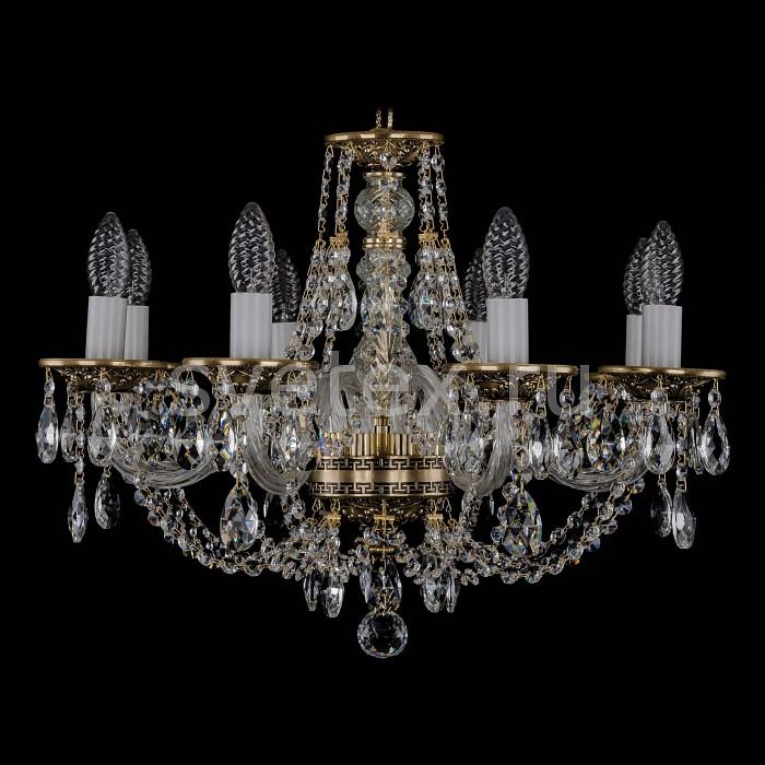 Фото Подвесная люстра Bohemia Ivele Crystal 1606 1606/8/195/GB