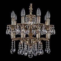 Подвесная люстра Bohemia Ivele CrystalБолее 6 ламп<br>Артикул - BI_1704_8_110_A_GB,Бренд - Bohemia Ivele Crystal (Чехия),Коллекция - 1704,Гарантия, месяцы - 12,Высота, мм - 400,Диаметр, мм - 450,Размер упаковки, мм - 510x510x200,Тип лампы - компактная люминесцентная [КЛЛ] ИЛИнакаливания ИЛИсветодиодная [LED],Общее кол-во ламп - 8,Напряжение питания лампы, В - 220,Максимальная мощность лампы, Вт - 40,Лампы в комплекте - отсутствуют,Цвет плафонов и подвесок - неокрашенный,Тип поверхности плафонов - прозрачный,Материал плафонов и подвесок - хрусталь,Цвет арматуры - золото черненое,Тип поверхности арматуры - глянцевый, рельефный,Материал арматуры - металл,Возможность подлючения диммера - можно, если установить лампу накаливания,Форма и тип колбы - свеча ИЛИ свеча на ветру,Тип цоколя лампы - E14,Класс электробезопасности - I,Общая мощность, Вт - 320,Степень пылевлагозащиты, IP - 20,Диапазон рабочих температур - комнатная температура,Дополнительные параметры - способ крепления светильника к потолку – на крюке<br>