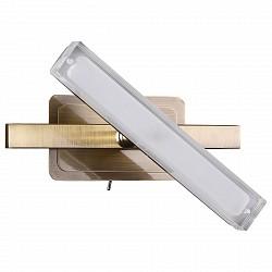 Бра IDLampПолимерный плафон<br>Артикул - ID_406_1A-Oldbronze,Бренд - IDLamp (Италия),Коллекция - 406,Гарантия, месяцы - 24,Высота, мм - 118,Тип лампы - светодиодная [LED],Общее кол-во ламп - 1,Напряжение питания лампы, В - 220,Максимальная мощность лампы, Вт - 5,Лампы в комплекте - светодиодная [LED],Цвет плафонов и подвесок - белый,Тип поверхности плафонов - матовый,Материал плафонов и подвесок - акрил,Цвет арматуры - бронза,Тип поверхности арматуры - глянцевый,Материал арматуры - металл,Степень пылевлагозащиты, IP - 20,Диапазон рабочих температур - комнатная температура,Дополнительные параметры - светильник предназначен для использования со скрытой проводкой, поворотный светильник<br>