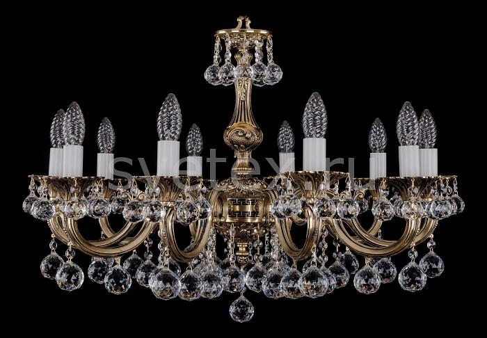 Фото Подвесная люстра Bohemia Ivele Crystal 1702 1702/10/A/GB/Balls