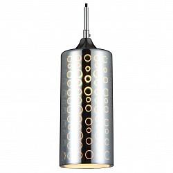 Подвесной светильник ST-LuceБарные<br>Артикул - SL979.033.01,Бренд - ST-Luce (Китай),Коллекция - SL979,Гарантия, месяцы - 24,Высота, мм - 300-1200,Диаметр, мм - 120,Размер упаковки, мм - 1020х620х330,Тип лампы - компактная люминесцентная [КЛЛ] ИЛИнакаливания ИЛИсветодиодная [LED],Общее кол-во ламп - 1,Напряжение питания лампы, В - 220,Максимальная мощность лампы, Вт - 40,Лампы в комплекте - отсутствуют,Цвет плафонов и подвесок - хром с рисунком,Тип поверхности плафонов - глянцевый,Материал плафонов и подвесок - стекло,Цвет арматуры - хром,Тип поверхности арматуры - глянцевый,Материал арматуры - металл,Возможность подлючения диммера - можно, если установить лампу накаливания,Тип цоколя лампы - E14,Класс электробезопасности - I,Степень пылевлагозащиты, IP - 20,Диапазон рабочих температур - комнатная температура,Дополнительные параметры - регулируется по высоте, способ крепления светильника к потолку – на монтажной пластине,  3D рисунок на стекле<br>