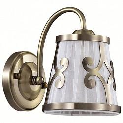 Бра LumionТекстильный плафон<br>Артикул - LMN_3285_1W,Бренд - Lumion (Италия),Коллекция - Fetida,Гарантия, месяцы - 24,Размер упаковки, мм - 190x150x150,Тип лампы - компактная люминесцентная [КЛЛ] ИЛИнакаливания ИЛИсветодиодная [LED],Общее кол-во ламп - 1,Напряжение питания лампы, В - 220,Максимальная мощность лампы, Вт - 60,Лампы в комплекте - отсутствуют,Цвет плафонов и подвесок - белый с бронзовым рисунком,Тип поверхности плафонов - матовый,Материал плафонов и подвесок - металл, текстиль,Цвет арматуры - бронза,Тип поверхности арматуры - матовый, металлик,Материал арматуры - металл,Возможность подлючения диммера - можно, если установить лампу накаливания,Тип цоколя лампы - E14,Класс электробезопасности - I,Степень пылевлагозащиты, IP - 20,Диапазон рабочих температур - комнатная температура,Дополнительные параметры - способ крепления светильника на стене – на монтажной пластине, светильник предназначен для использования со скрытой проводкой<br>