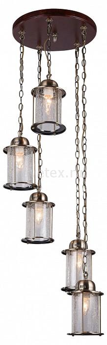 Подвесная люстра ST-LuceДеревянные<br>Артикул - SL150.303.05,Бренд - ST-Luce (Китай),Коллекция - Volantino,Гарантия, месяцы - 24,Высота, мм - 1010,Диаметр, мм - 500,Размер упаковки, мм - 460x460x280,Тип лампы - компактная люминесцентная [КЛЛ] ИЛИнакаливания ИЛИсветодиодная [LED],Общее кол-во ламп - 5,Напряжение питания лампы, В - 220,Максимальная мощность лампы, Вт - 40,Лампы в комплекте - отсутствуют,Цвет плафонов и подвесок - неокрашенный,Тип поверхности плафонов - прозрачный,Материал плафонов и подвесок - стекло,Цвет арматуры - бронза, коричневый,Тип поверхности арматуры - матовый,Материал арматуры - дерево, металл,Количество плафонов - 5,Возможность подлючения диммера - можно, если установить лампу накаливания,Тип цоколя лампы - E27,Класс электробезопасности - I,Общая мощность, Вт - 200,Степень пылевлагозащиты, IP - 20,Диапазон рабочих температур - комнатная температура,Дополнительные параметры - способ крепления светильника к потолоку - на монтажной пластине, стиль кантри<br>