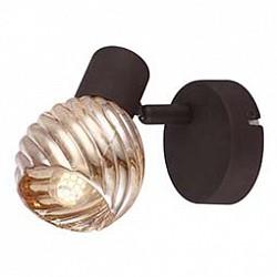 Спот GloboС 1 лампой<br>Артикул - GB_54644-1O,Бренд - Globo (Австрия),Коллекция - 54644,Гарантия, месяцы - 24,Тип лампы - компактная люминесцентная [КЛЛ] ИЛИнакаливания ИЛИсветодиодная [LED],Общее кол-во ламп - 1,Напряжение питания лампы, В - 220,Максимальная мощность лампы, Вт - 40,Лампы в комплекте - отсутствуют,Цвет плафонов и подвесок - тонированный,Тип поверхности плафонов - прозрачный, рельефный,Материал плафонов и подвесок - стекло,Цвет арматуры - кофейный,Тип поверхности арматуры - матовый,Материал арматуры - металл,Возможность подлючения диммера - можно, если установить лампу накаливания,Тип цоколя лампы - E14,Класс электробезопасности - I,Степень пылевлагозащиты, IP - 20,Диапазон рабочих температур - комнатная температура,Дополнительные параметры - способ крепления светильника к потолку и стене - на монтажной пластине, поворотный светильник<br>