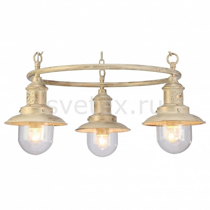 Подвесная люстра Arte LampЛюстры<br>Артикул - AR_A4524LM-3WG,Бренд - Arte Lamp (Италия),Коллекция - Sailor,Гарантия, месяцы - 24,Высота, мм - 250-750,Диаметр, мм - 650,Размер упаковки, мм - 570x570x220,Тип лампы - компактная люминесцентная [КЛЛ] ИЛИнакаливания ИЛИсветодиодная [LED],Общее кол-во ламп - 3,Напряжение питания лампы, В - 220,Максимальная мощность лампы, Вт - 60,Лампы в комплекте - отсутствуют,Цвет плафонов и подвесок - неокрашенный,Тип поверхности плафонов - прозрачный,Материал плафонов и подвесок - стекло,Цвет арматуры - белый, золото,Тип поверхности арматуры - матовый,Материал арматуры - металл,Количество плафонов - 3,Возможность подлючения диммера - можно, если установить лампу накаливания,Тип цоколя лампы - E27,Класс электробезопасности - I,Общая мощность, Вт - 180,Степень пылевлагозащиты, IP - 20,Диапазон рабочих температур - комнатная температура,Дополнительные параметры - способ крепления светильника к потолку – на монтажной пластине<br>
