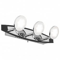 Бра IDLampБолее 1 лампы<br>Артикул - ID_340_3A-Blackchrome,Бренд - IDLamp (Италия),Коллекция - 340,Высота, мм - 120,Тип лампы - светодиодная [LED],Общее кол-во ламп - 3,Напряжение питания лампы, В - 220,Максимальная мощность лампы, Вт - 5,Лампы в комплекте - светодиодные [LED],Цвет плафонов и подвесок - белый,Тип поверхности плафонов - матовый,Материал плафонов и подвесок - стекло,Цвет арматуры - хром, черный,Тип поверхности арматуры - глянцевый,Материал арматуры - металл,Возможность подлючения диммера - нельзя,Класс электробезопасности - I,Общая мощность, Вт - 15,Степень пылевлагозащиты, IP - 20,Диапазон рабочих температур - комнатная температура,Дополнительные параметры - светильник предназначен для использования со скрытой проводкой, способ крепления светильника к стене – на монтажной пластине<br>