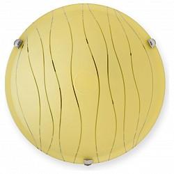 Накладной светильник TopLightКруглые<br>Артикул - TPL_TL9291Y-02YE,Бренд - TopLight (Россия),Коллекция - Xithi,Гарантия, месяцы - 24,Диаметр, мм - 300,Размер упаковки, мм - 350x120x350,Тип лампы - компактная люминесцентная [КЛЛ] ИЛИнакаливания ИЛИсветодиодная [LED],Общее кол-во ламп - 2,Напряжение питания лампы, В - 220,Максимальная мощность лампы, Вт - 60,Лампы в комплекте - отсутствуют,Цвет плафонов и подвесок - желтая с рисунком,Тип поверхности плафонов - матовый,Материал плафонов и подвесок - стекло,Цвет арматуры - хром,Тип поверхности арматуры - глянцевый,Материал арматуры - металл,Возможность подлючения диммера - можно, если установить лампу накаливания,Тип цоколя лампы - E27,Класс электробезопасности - I,Общая мощность, Вт - 120,Степень пылевлагозащиты, IP - 20,Диапазон рабочих температур - комнатная температура,Дополнительные параметры - способ крепления светильника к потолку и к стене - на монтажной пластине<br>