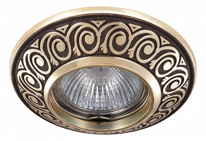 Фото Встраиваемый светильник Novotech Vintage 370002