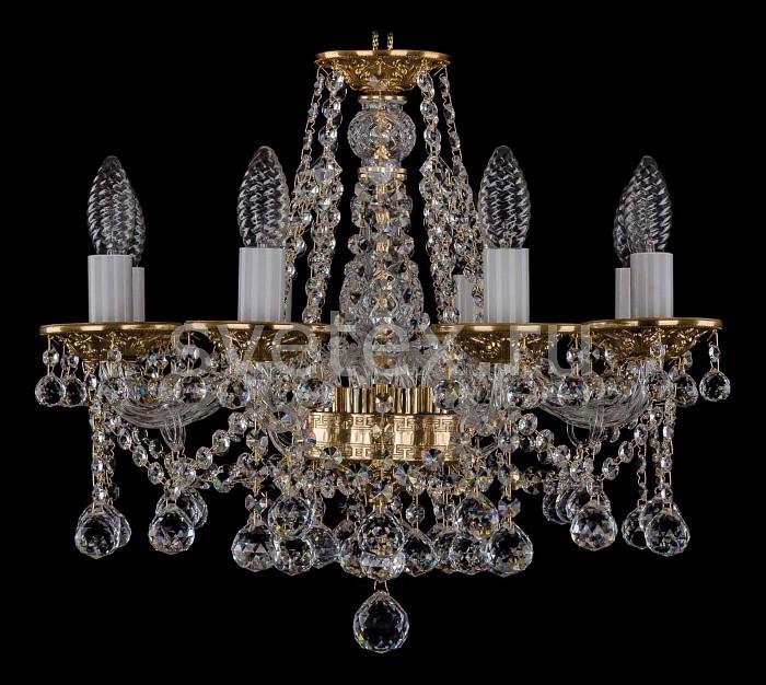 Фото Подвесная люстра Bohemia Ivele Crystal 1613 1613/8/165/G/Balls