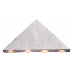 Накладной светильник GloboСветодиодные<br>Артикул - GB_7602,Бренд - Globo (Австрия),Коллекция - Gordon,Гарантия, месяцы - 24,Высота, мм - 125,Тип лампы - светодиодная [LED],Общее кол-во ламп - 5,Напряжение питания лампы, В - 3.3,Максимальная мощность лампы, Вт - 1,Лампы в комплекте - светодиодные [LED],Цвет арматуры - алюминий, неокрашенный,Тип поверхности арматуры - матовый,Материал арматуры - акрил, дюралюминий,Возможность подлючения диммера - нельзя,Класс электробезопасности - I,Общая мощность, Вт - 5,Степень пылевлагозащиты, IP - 20,Диапазон рабочих температур - комнатная температура,Дополнительные параметры - светильник предназначен для использования со скрытой проводкой<br>