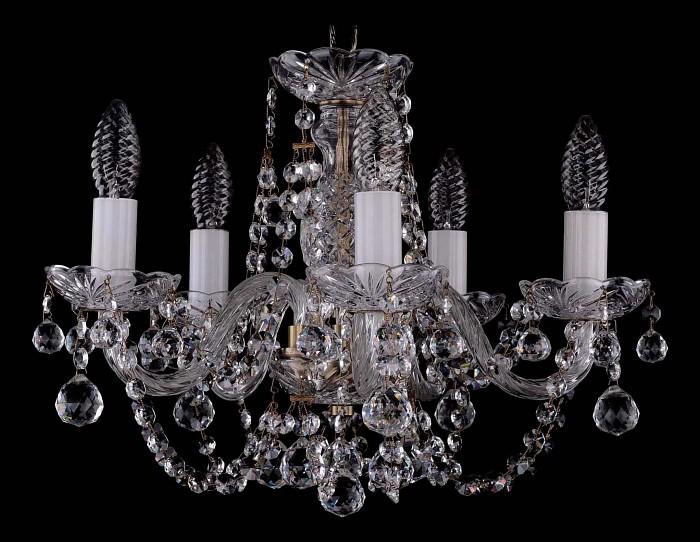 Фото Подвесная люстра Bohemia Ivele Crystal 1406 1406/5/141/Pa/Balls