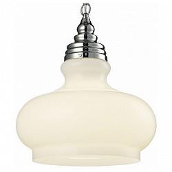 Подвесной светильник ST-LuceСветодиодные<br>Артикул - SL340.503.01,Бренд - ST-Luce (Китай),Коллекция - SL340,Гарантия, месяцы - 24,Время изготовления, дней - 1,Высота, мм - 1200,Диаметр, мм - 350,Размер упаковки, мм - 410х410х325,Тип лампы - компактная люминесцентная [КЛЛ] ИЛИнакаливания ИЛИсветодиодная [LED],Общее кол-во ламп - 1,Напряжение питания лампы, В - 220,Максимальная мощность лампы, Вт - 60,Лампы в комплекте - отсутствуют,Цвет плафонов и подвесок - белый,Тип поверхности плафонов - матовый,Материал плафонов и подвесок - стекло,Цвет арматуры - хром,Тип поверхности арматуры - глянцевый,Материал арматуры - металл,Возможность подлючения диммера - можно, если установить лампу накаливания,Тип цоколя лампы - E27,Класс электробезопасности - I,Степень пылевлагозащиты, IP - 20,Диапазон рабочих температур - комнатная температура,Дополнительные параметры - регулируется по высоте,  способ крепления светильника к потолку – на монтажной пластине<br>