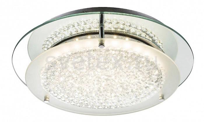 Накладной светильник GloboКруглые<br>Артикул - GB_49299-12,Бренд - Globo (Австрия),Коллекция - Froo I,Гарантия, месяцы - 24,Высота, мм - 80,Диаметр, мм - 280,Тип лампы - светодиодная [LED],Общее кол-во ламп - 1,Максимальная мощность лампы, Вт - 12,Цвет лампы - белый,Лампы в комплекте - светодиодная [LED],Цвет плафонов и подвесок - неокрашенный,Тип поверхности плафонов - прозрачный,Материал плафонов и подвесок - стекло, хрусталь,Цвет арматуры - хром,Тип поверхности арматуры - глянцевый,Материал арматуры - металл,Количество плафонов - 1,Возможность подлючения диммера - нельзя,Цветовая температура, K - 4000 K,Световой поток, лм - 840,Экономичнее лампы накаливания - в 5.7 раза,Светоотдача, лм/Вт - 63,Класс электробезопасности - I,Напряжение питания, В - 220,Степень пылевлагозащиты, IP - 20,Диапазон рабочих температур - комнатная температура,Дополнительные параметры - способ крепления к потолку - на монтажной пластине<br>