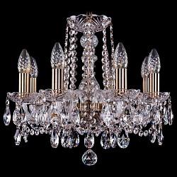 Подвесная люстра Bohemia Ivele CrystalБолее 6 ламп<br>Артикул - BI_1402_8_141_Pa,Бренд - Bohemia Ivele Crystal (Чехия),Коллекция - 1402,Гарантия, месяцы - 24,Высота, мм - 410,Диаметр, мм - 460,Размер упаковки, мм - 450x450x200,Тип лампы - компактная люминесцентная [КЛЛ] ИЛИнакаливания ИЛИсветодиодная [LED],Общее кол-во ламп - 8,Напряжение питания лампы, В - 220,Максимальная мощность лампы, Вт - 40,Лампы в комплекте - отсутствуют,Цвет плафонов и подвесок - неокрашенный,Тип поверхности плафонов - прозрачный,Материал плафонов и подвесок - хрусталь,Цвет арматуры - неокрашенный, патина,Тип поверхности арматуры - глянцевый, прозрачный,Материал арматуры - металл, стекло,Возможность подлючения диммера - можно, если установить лампу накаливания,Форма и тип колбы - свеча,Тип цоколя лампы - E14,Класс электробезопасности - I,Общая мощность, Вт - 320,Степень пылевлагозащиты, IP - 20,Диапазон рабочих температур - комнатная температура,Дополнительные параметры - способ крепления светильника к потолку – на крюке<br>