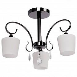 Люстра на штанге MW-LightНе более 4 ламп<br>Артикул - MW_315011103,Бренд - MW-Light (Германия),Коллекция - Блеск 1,Гарантия, месяцы - 24,Время изготовления, дней - 1,Высота, мм - 400,Диаметр, мм - 460,Тип лампы - компактная люминесцентная [КЛЛ] ИЛИнакаливания ИЛИсветодиодная [LED],Общее кол-во ламп - 3,Напряжение питания лампы, В - 220,Максимальная мощность лампы, Вт - 60,Лампы в комплекте - отсутствуют,Цвет плафонов и подвесок - белый, неокрашенный,Тип поверхности плафонов - матовый, прозрачный,Материал плафонов и подвесок - стекло, хрусталь,Цвет арматуры - никель,Тип поверхности арматуры - глянцевый,Материал арматуры - металл,Возможность подлючения диммера - можно, если установить лампу накаливания,Тип цоколя лампы - E27,Общая мощность, Вт - 180,Степень пылевлагозащиты, IP - 20,Диапазон рабочих температур - комнатная температура<br>